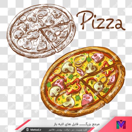 png پیتزا طرح 16