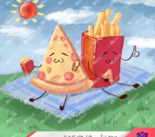 png پیتزا سیب زمینی سرخ کرده طرح 18