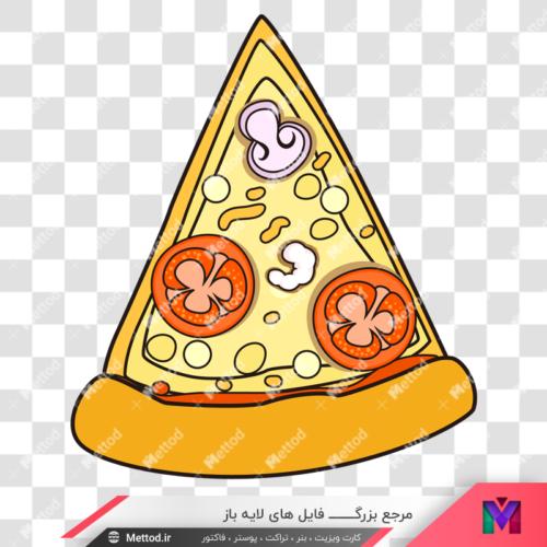 عکس png پیتزا طرح 22