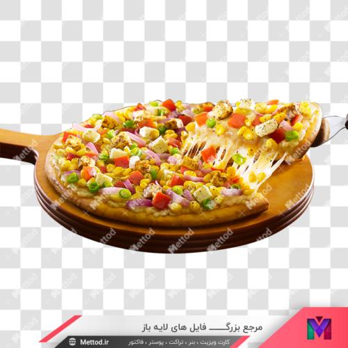 عکس png پیتزا طرح 14