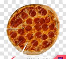 تصویر png پیتزا طرح 2