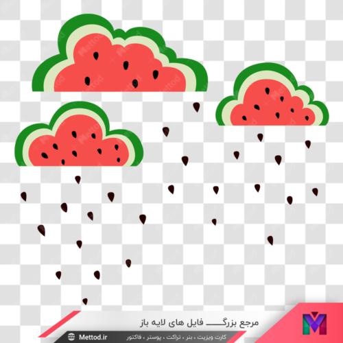 png هندوانه طرح 66