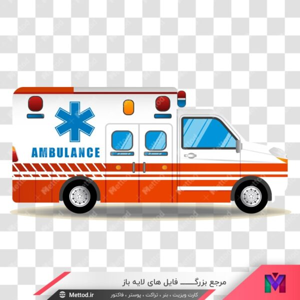 تصویر png آمبولانس