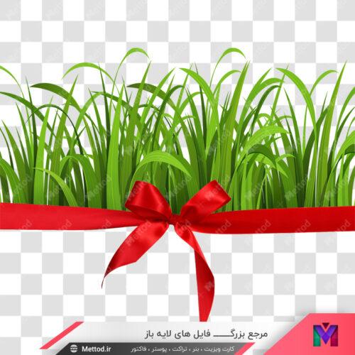 عکس png سبزه عید طرح 219