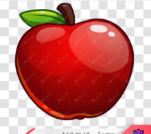 عکس دوربری شده سیب طرح 385