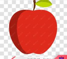 عکس دوربری شده سیب طرح 388