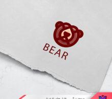 لوگو خرس طرح 16