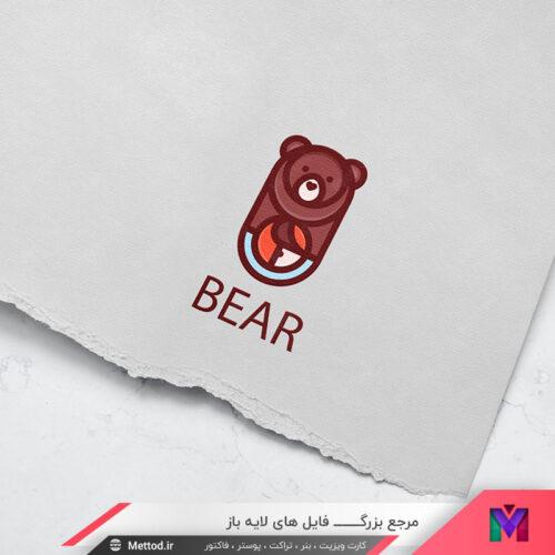 لوگو خرس طرح 15