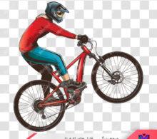 وکتور دوچرخه سوار طرح 91