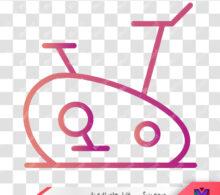 وکتور دوچرخه ثابت طرح 98