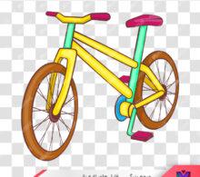 وکتور دوچرخه طرح 100