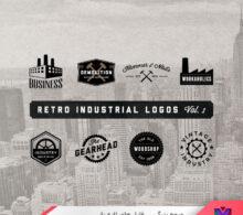 مجموعه لوگو صنعتی طرح 92