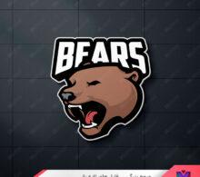 لوگو خرس طرح 244
