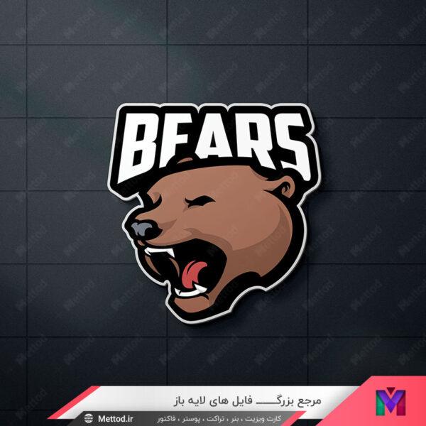 لوگو خرس