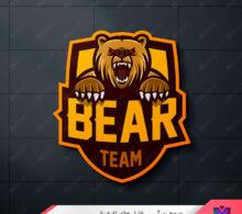 لوگو خرس طرح 245