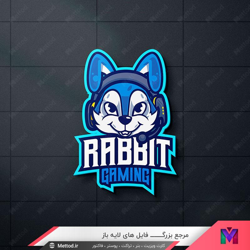لوگو خرگوش طرح 491